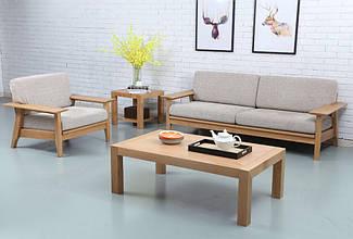 """Дерев'яна яний кавовий стіл """"Севілья"""" від виробника"""