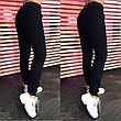 Женские теплые спортивные штаны трехнитка на флисе, фото 2
