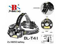 Налобный фонарь Bailong BL-T41-T6
