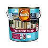 Масляная краска на водной основе для деревянных фасадов Pinotex Wood Paint Duo VX+ (белая) 2,5 л