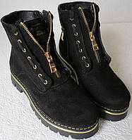 Balmain лезвие зима! сапоги ботинки натуральная замша девочки женщины, фото 1