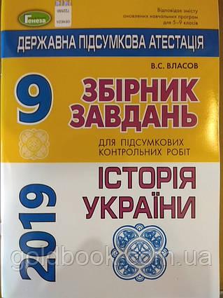 Історія України 9 клас ДПА 2019