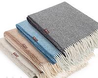 Плед шерстяной Wool Lille 140х200см в ассортименте