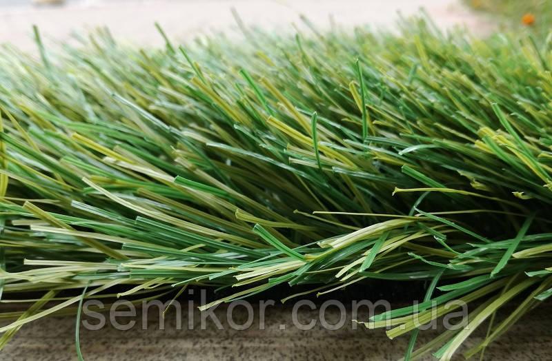 Искусственная трава для футбола MSC SportGrass duo, 40 мм