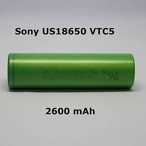 Аккумулятор Sony US18650 VTC5 2600mah 30А