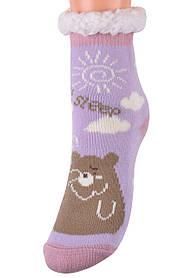 Детские носки на МЕХУ с тормозами (Арт. HD6017/4R/28-31)   1 пара