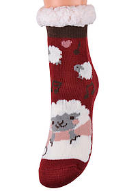 Детские носки на МЕХУ с тормозами (Арт. HD6017/5R/28-31)   1 пара