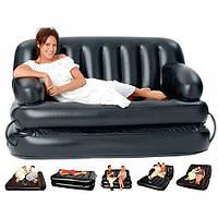 Велюр диван-диван bestway
