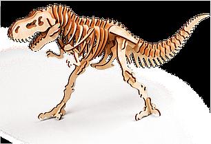 Тиранозавр 3D конструктор деревянный эко пазл-раскраска Гарантия качества Быстрая доставка
