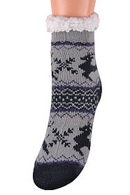 Детские носки на МЕХУ с тормозами (Арт. HD6020/1R/28-31)   1 пара