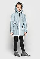 Кашемировое пальто Cvetkov Марта Светло - голубой , фото 1