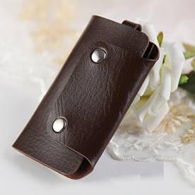 Ключница карманная женская Bared brown
