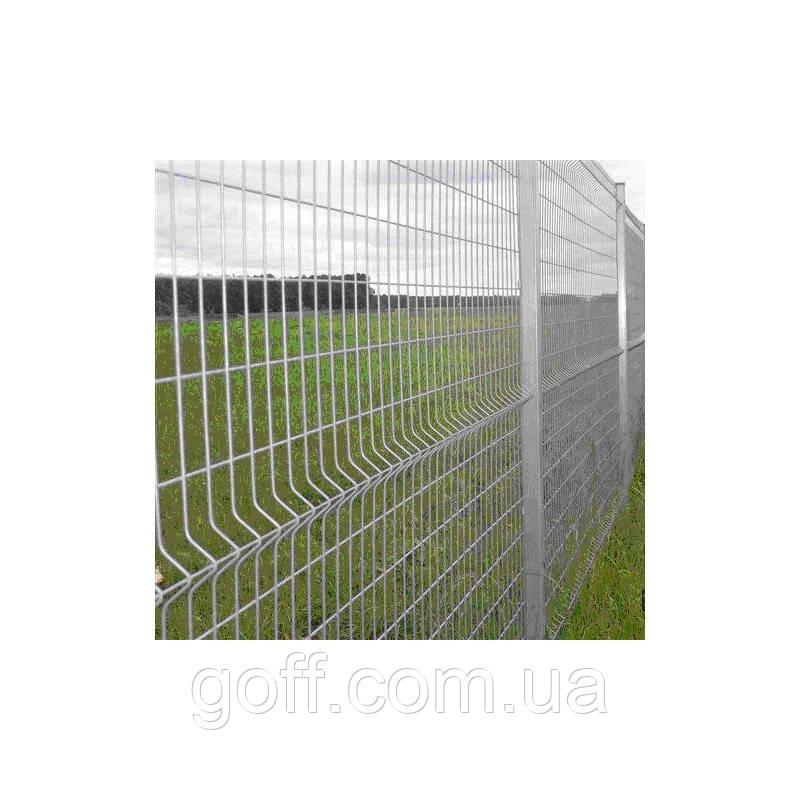 Металлические заборы - секция 1,5х2,5м ф3+4мм