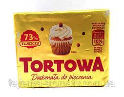 Маргарин для выпечки Tortowa 73%, 250гр (Польша)