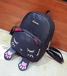 Рюкзак городской женский Moggy Tom black