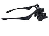 Увеличительные очки лупы с подсветкой 10X 15X 20X 25X, фото 6