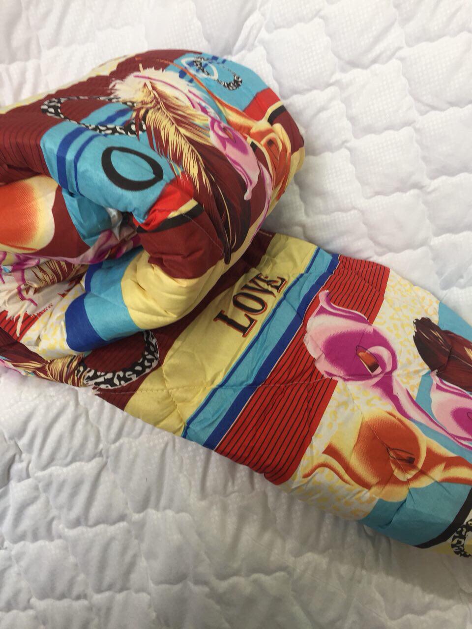 Одеяло стёганое Овчина в (ткане поликаттон) 150*210см 290грн.
