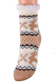 Детские носки на МЕХУ с тормозами (Арт. HD6020/2R/28-31)   1 пара