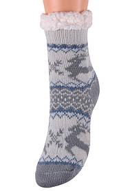 Детские носки на МЕХУ с тормозами (Арт. HD6020/3R/28-31)   1 пара