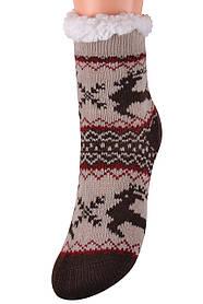 Детские носки на МЕХУ с тормозами (Арт. HD6020/4R/28-31)   1 пара