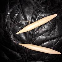 Кругові спиці, 20 мм, 83 см Круговые спицы для вязания, 83 см, 20 мм
