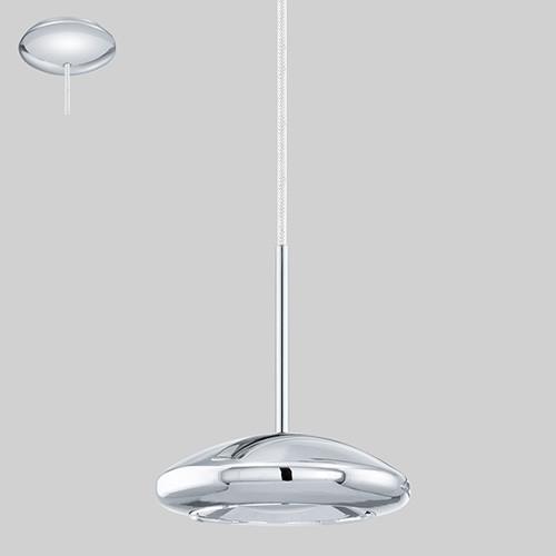 Подвес 92784 EGLO Tarugo  LED 1х4,5Вт металл/серебро