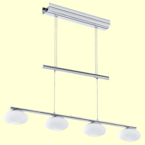 Подвесной светильник 91752 EGLO Aleandro  LED 4х6Вт опал белый/хром