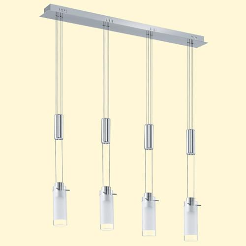 Подвесной светильник 91546 EGLO Aggius  LED 4х6Вт белый/хром