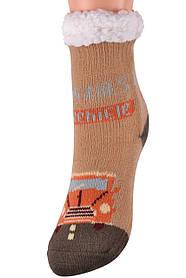 Детские носки на МЕХУ с тормозами (Арт. HD6022/3R/28-31)   1 пара