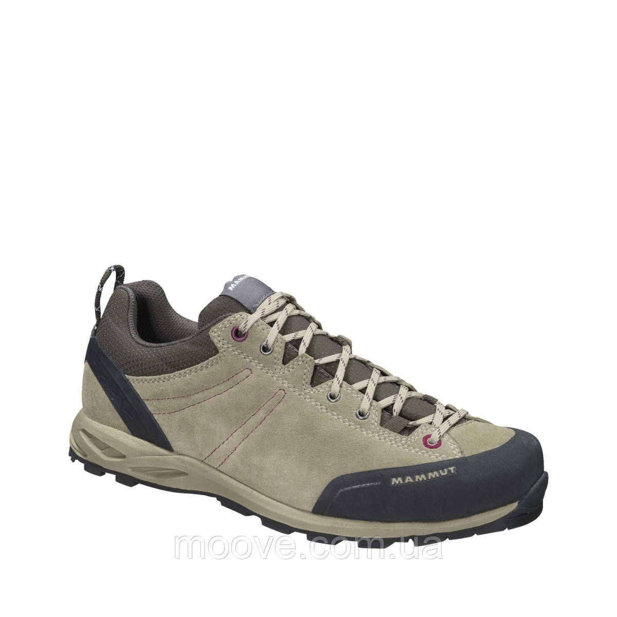 Кроссовки жен. Mammut Wall Low Woman dark taupe-amarante UK 4,5 (EU 37 1/3)