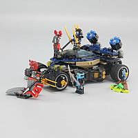 Конструктор Lepin 06046 Ninja ниндзя Ninjago ниндзяго Самурай VXL 458 деталей, фото 1