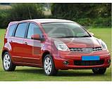 Стекло задней двери Nissan Note '06-13 правое (Sekurit) , фото 2