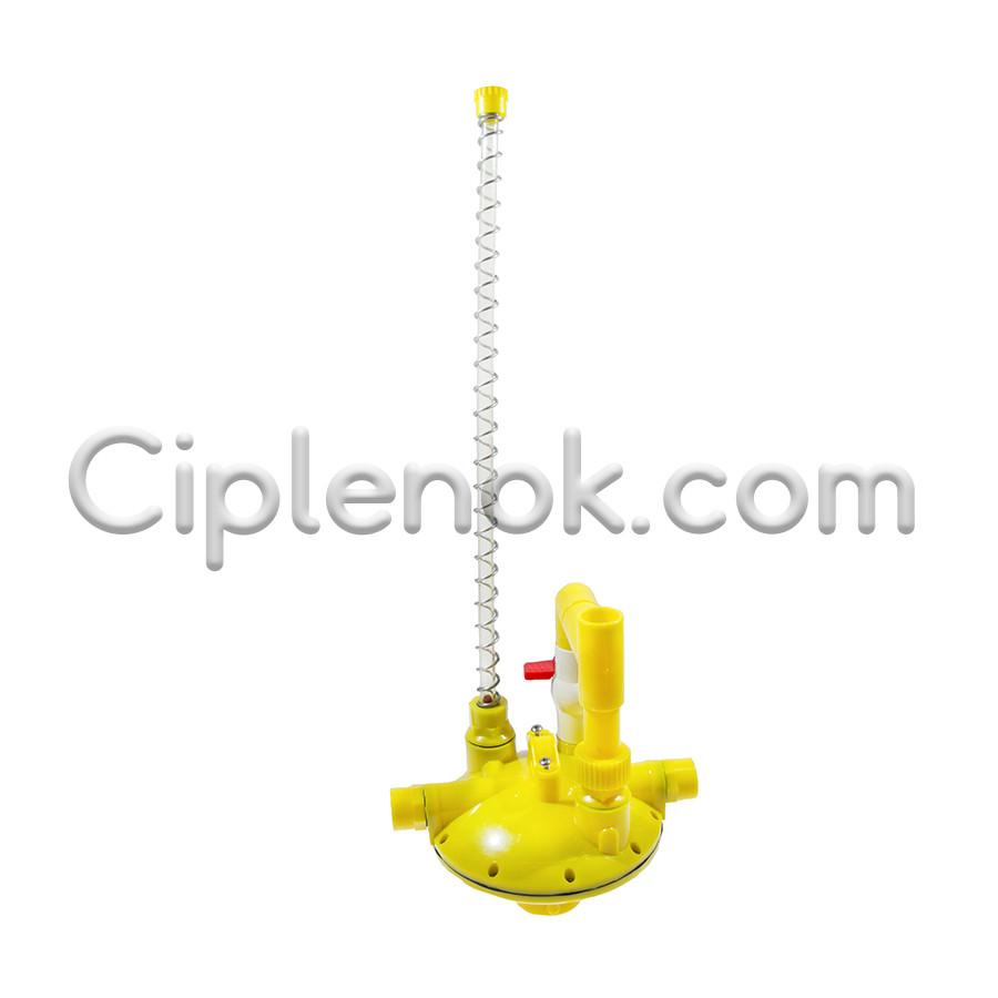 Регулятор давления воды серединный с переключателем промывки (РД-97)