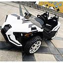 Двомісний дитячий електромобіль 4 мотора, Шкіряне сидіння, EVA Гума, дитячий електромобіль, фото 6
