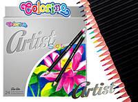 Олівці кольорові Colorino Artist м'які 24 кольору (65221PTR) (5907690865221)