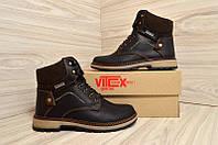 Подростковые ботинки зимние Vitex 4010 Classic 555633 Black