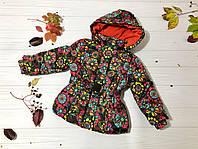 Детская куртка осень-зима на девочку 3, 4, 5, 7 лет, LOSAN, Испания