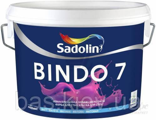 Краска Sadolin BINDO 7 BW (WO) 10 л