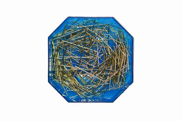Булавка-гвоздик 30мм цв никель (уп 300шт) 0333-4004 Veritas