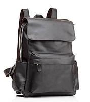 Рюкзак кожаный Tiding Bag Bp5-2805A Темно-коричневый