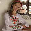 Женская вышиванка Мак классический | Жіноча вишиванка Мак класичний