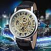 Механические часы Winner Skeleton (silver) - гарантия 12 месяцев, фото 5