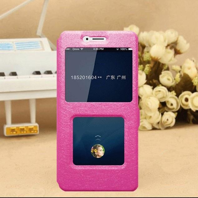 Чехол-книжка Holey для Xiaomi Redmi 4X pink