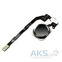 Шлейф для Apple iPhone 5S / iPhone SE с кнопкой Home Original Black