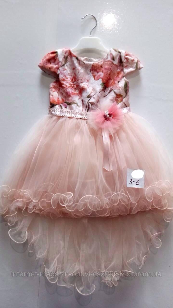 c1904e8784e Нарядное платье для девочек от 3 до 6 лет.