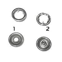 Кнопка металлическая перламутровая (51504.001)