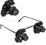 Увеличительные очки лупы с подсветкой 20X, фото 2