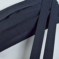 Коса бейка стрейч 20 мм синя темна (51705.001)