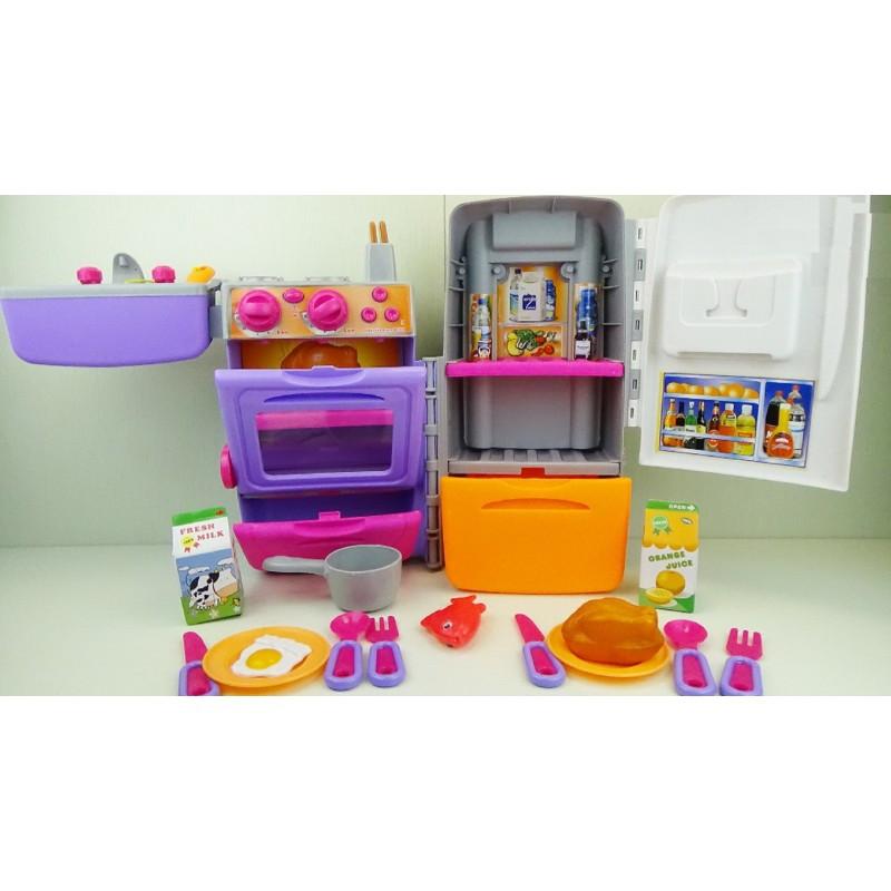Игровой набор кухня-чемодан 9911 для девочек