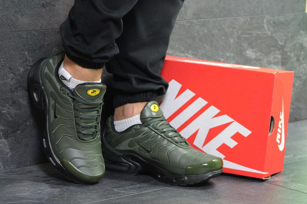 6525728c Мужские Зимние Кроссовки Темно Зеленые Nike Air Max Tn 6607 — в ...